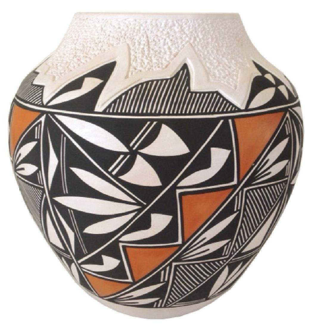 Acoma Pottery Jar - E. Antonio