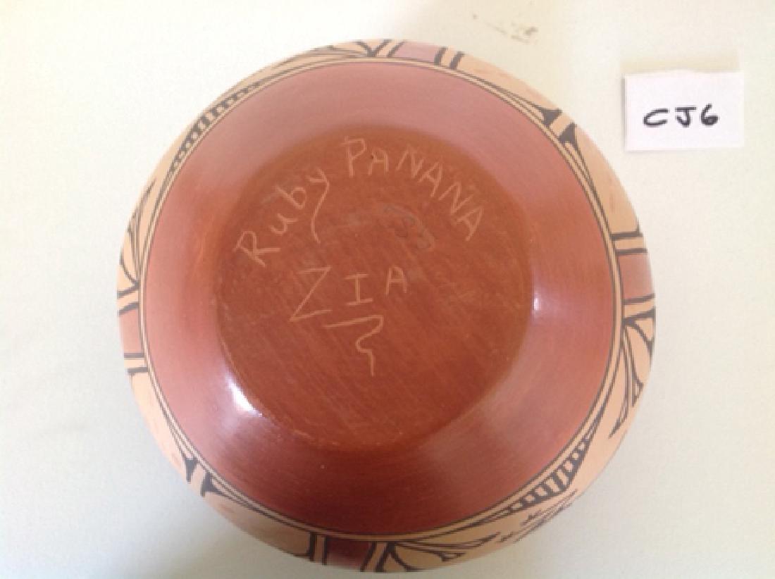 Zia Pottery Jar - Ruby Panana - 3
