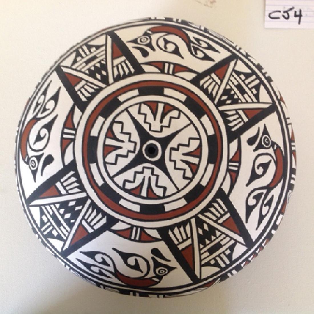 San Felipe/Zuni Pottery Vessel - J & N Latoma - 3