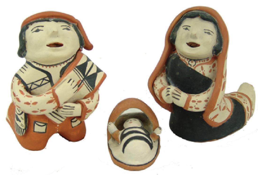 Cochiti Pottery Nativity - Ada Suina