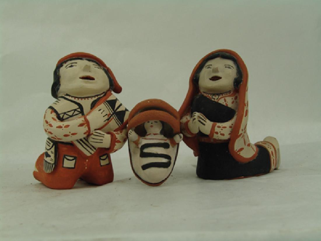 Cochiti Pottery Nativity - Ada Suina - 2