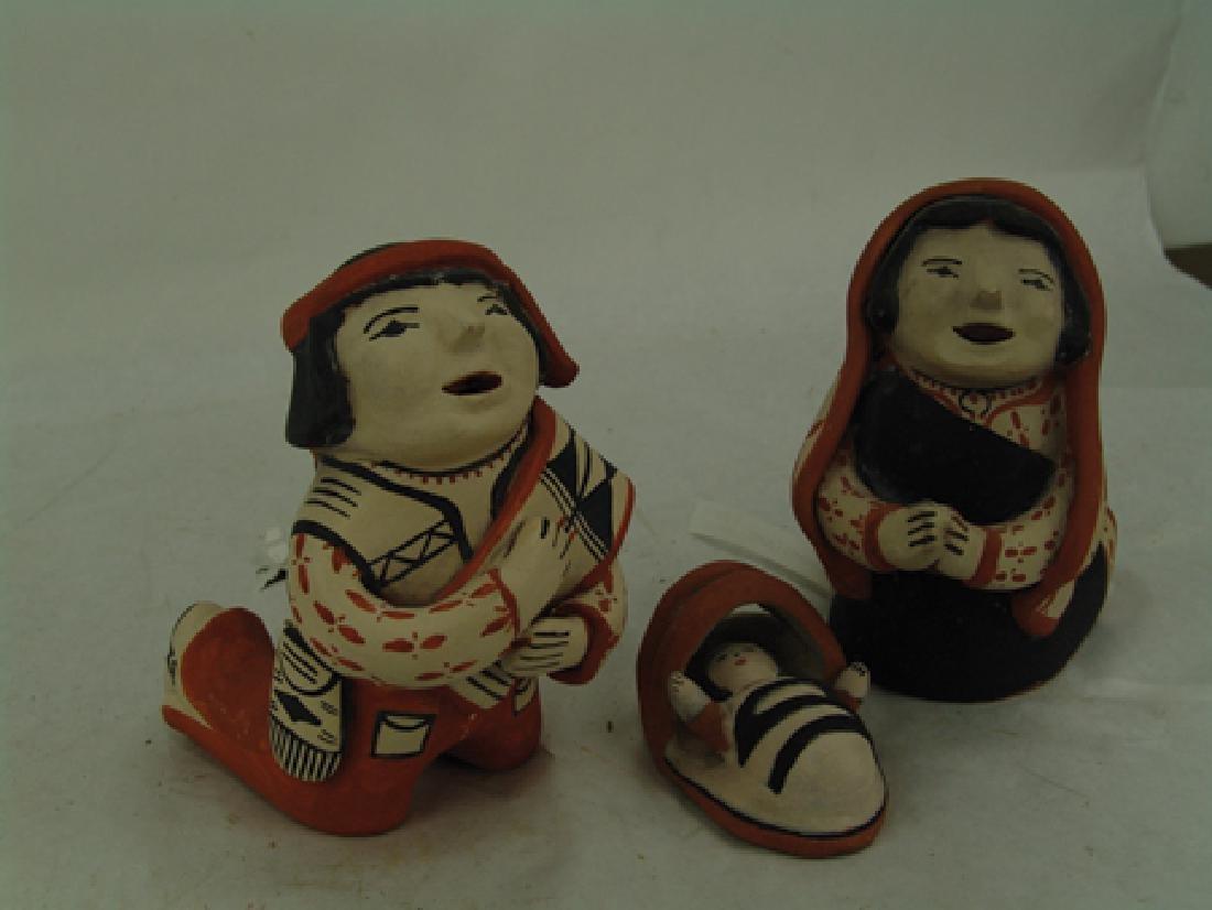 Cochiti Pottery Nativity - Ada Suina - 3