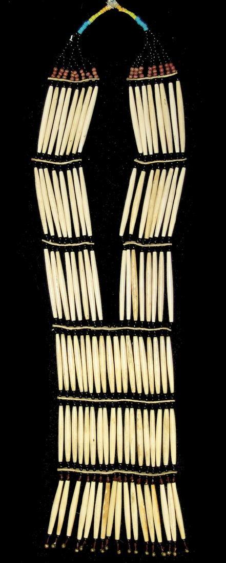 Nez Perce Bone Necklace