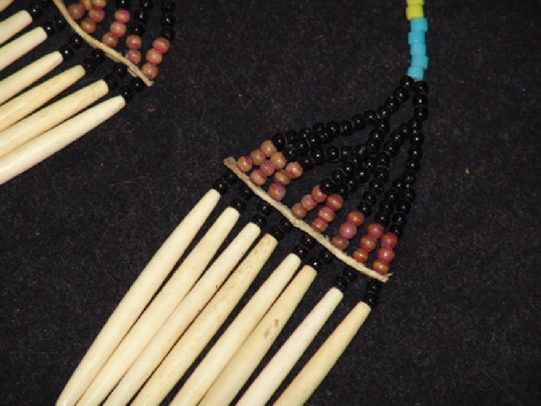 Nez Perce Bone Necklace - 3