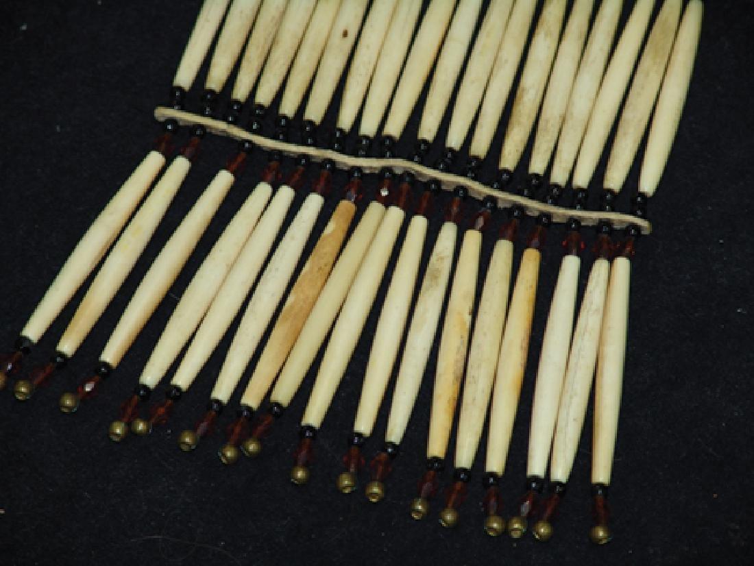Nez Perce Bone Necklace - 4