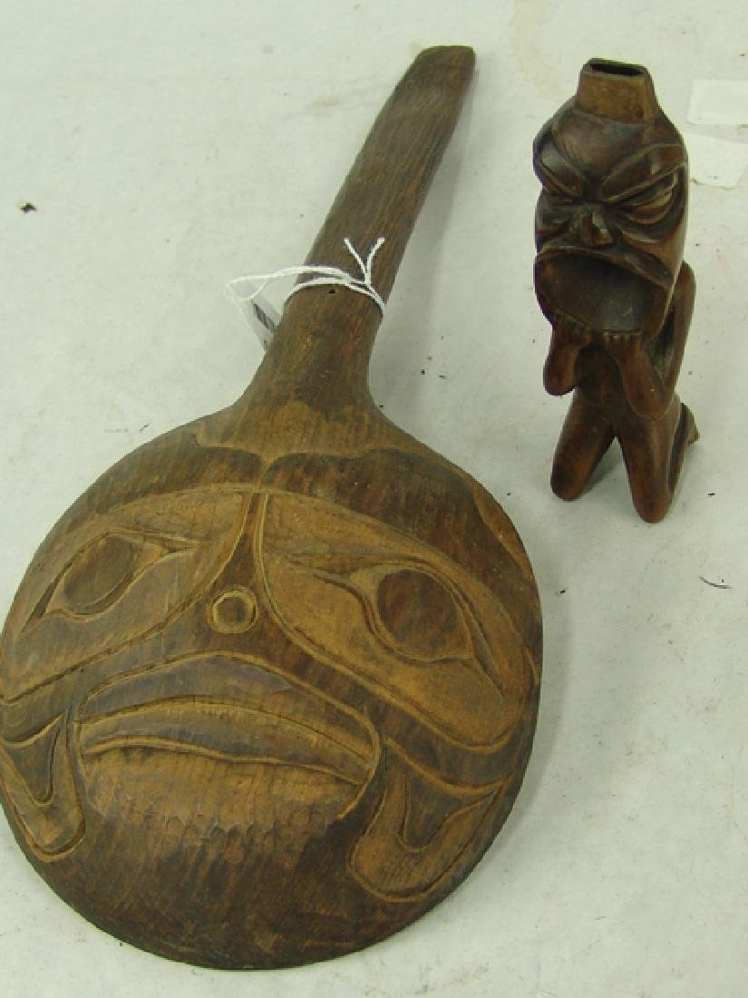 2 NW Coast Carvings - 3