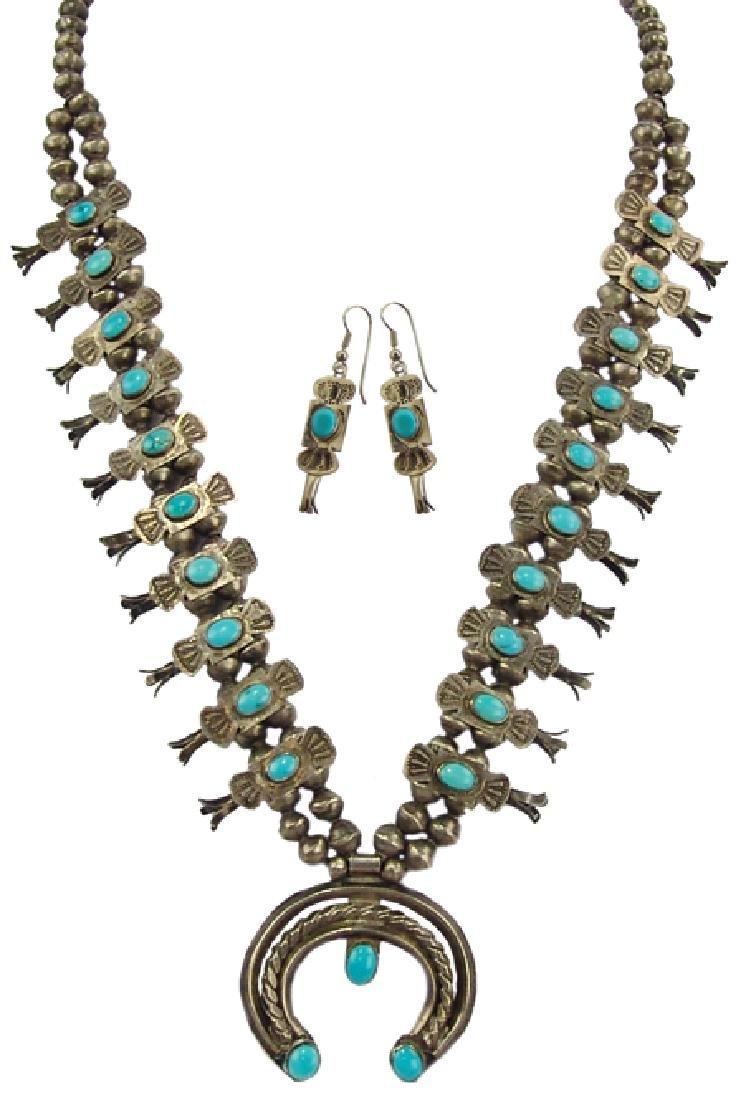 Navajo Necklace Set