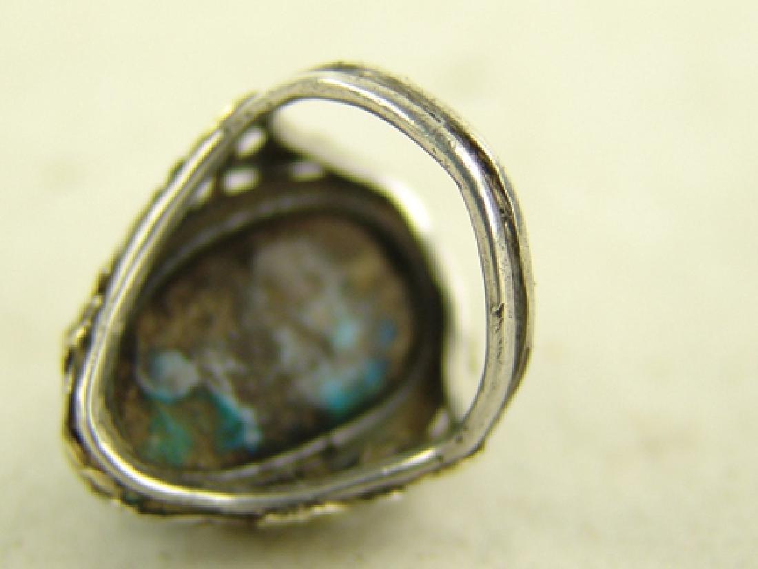 4 Navajo/Zuni Rings - 10