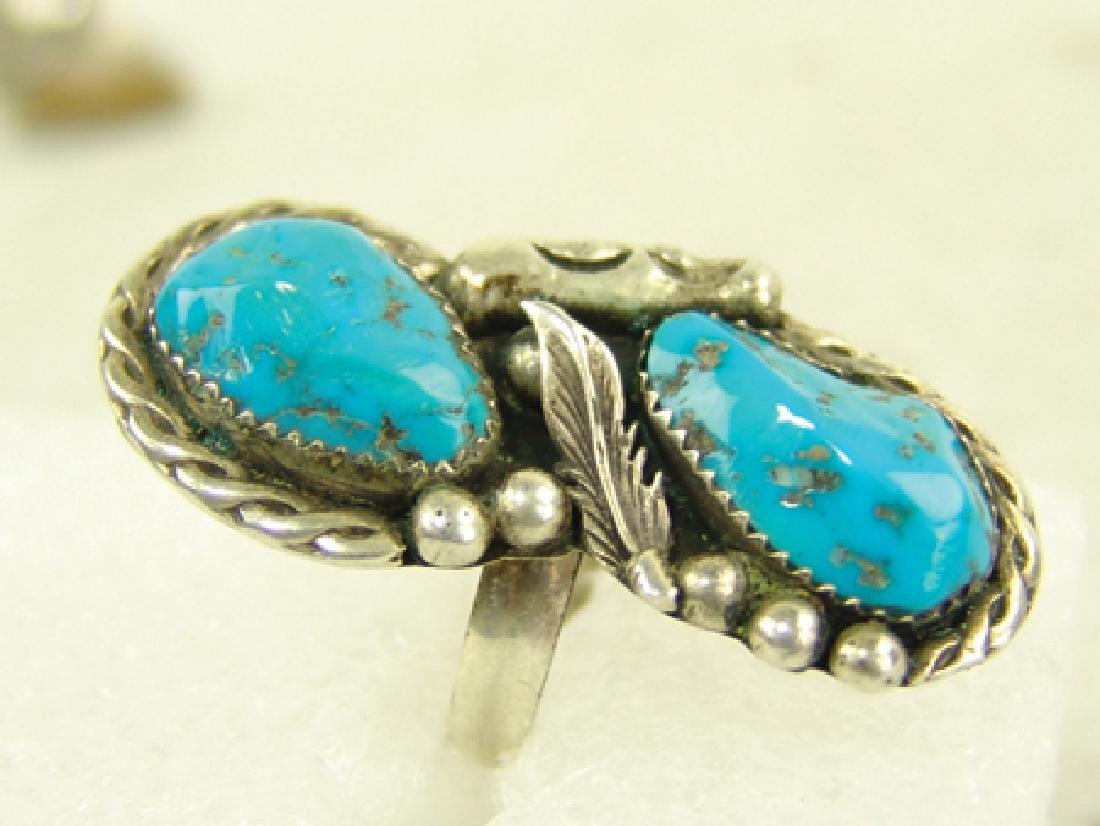 4 Navajo/Zuni Rings - 7