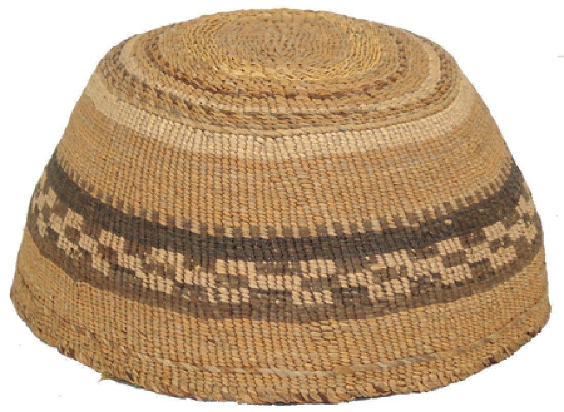 Klamath Basketry Hat