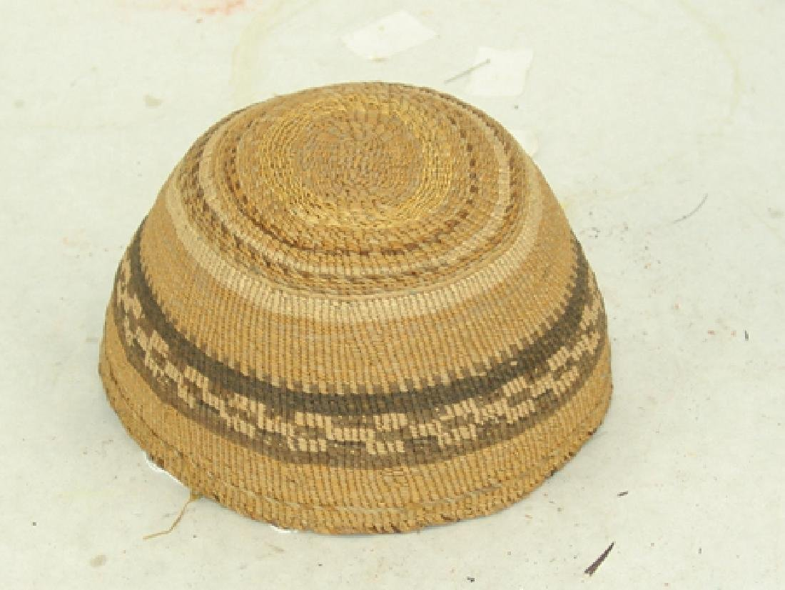 Klamath Basketry Hat - 2