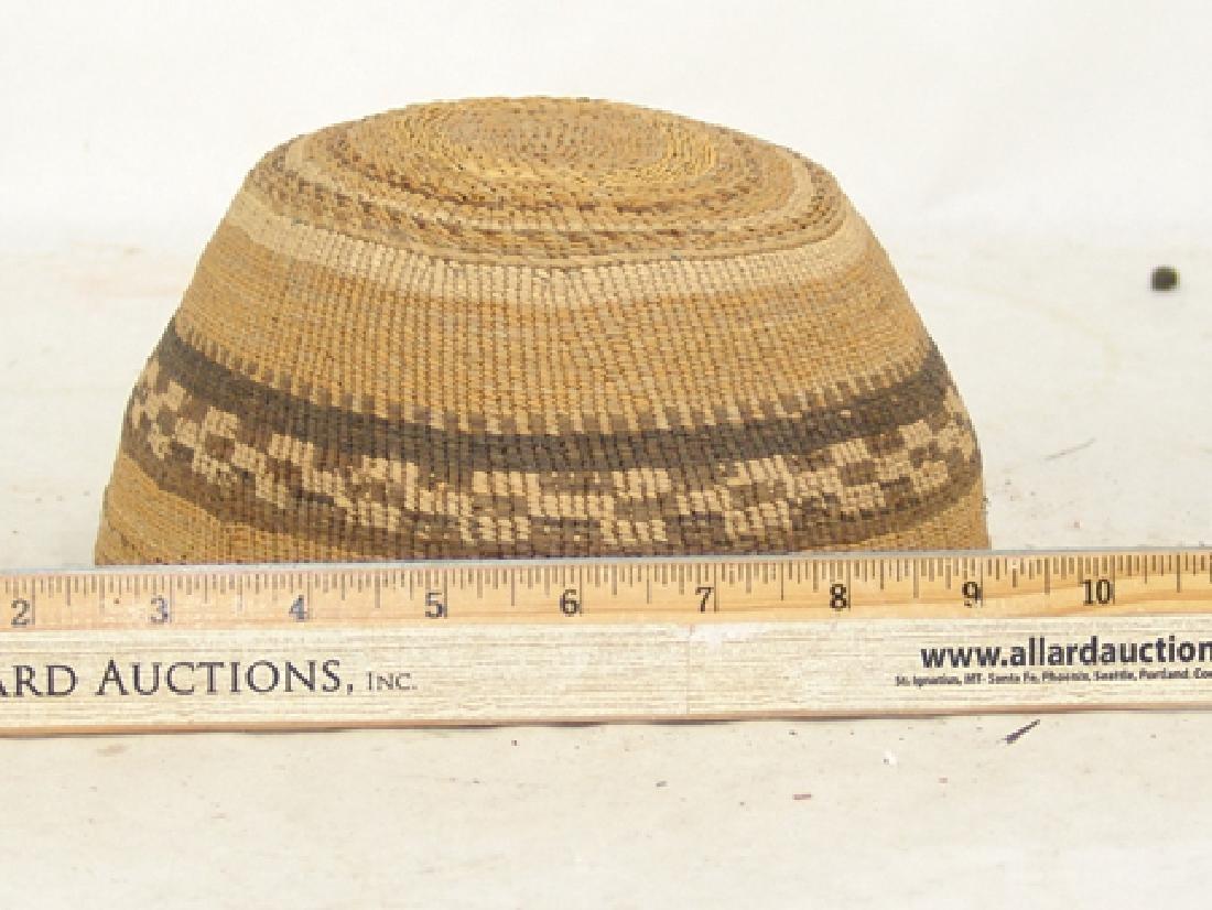 Klamath Basketry Hat - 3