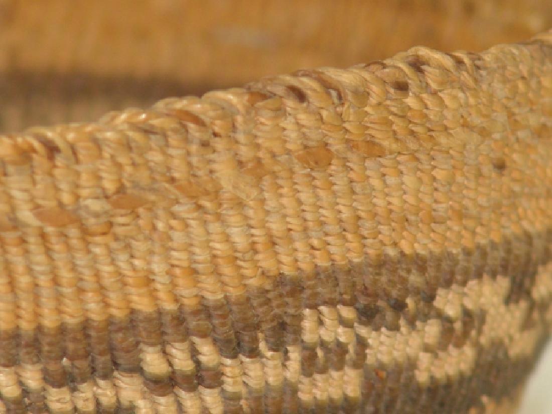 Klamath Basketry Hat - 4