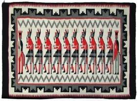 Navajo-Style Rug/Weaving