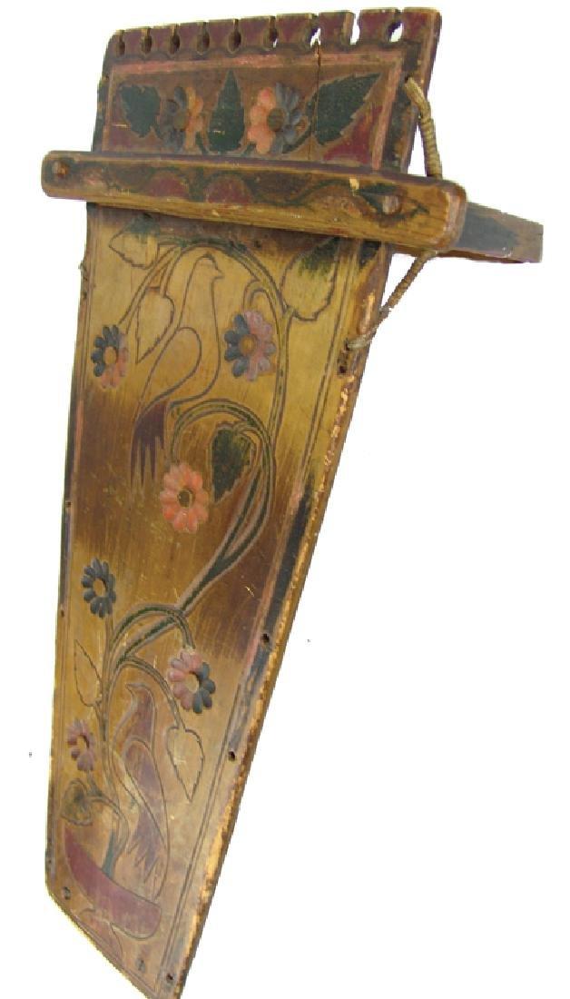 Iroquois Wooden Cradleboard