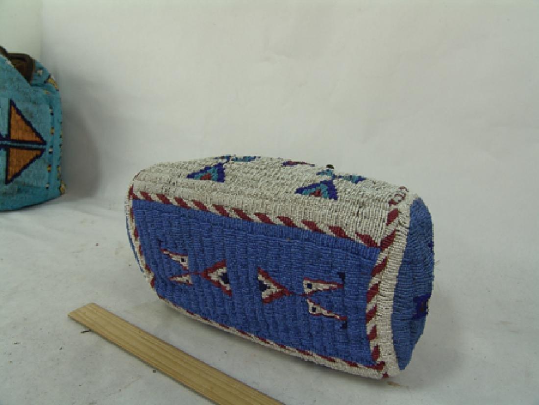 Sioux Fully Beaded Bag - 10