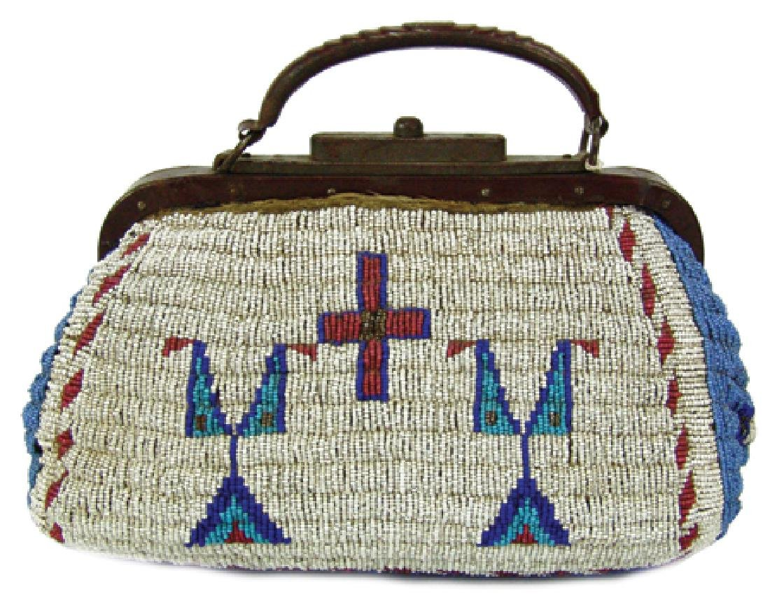 Sioux Fully Beaded Bag