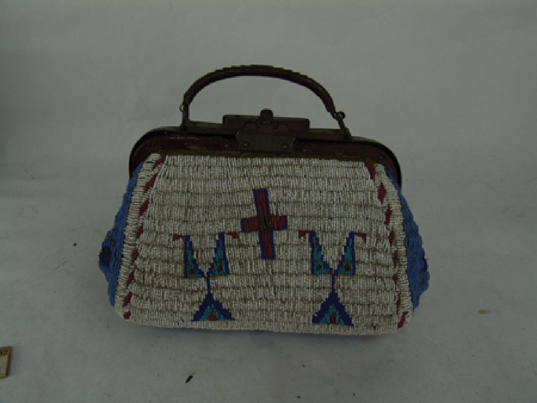 Sioux Fully Beaded Bag - 2