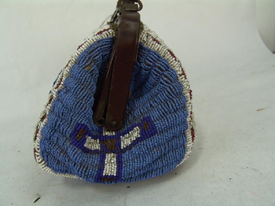 Sioux Fully Beaded Bag - 4