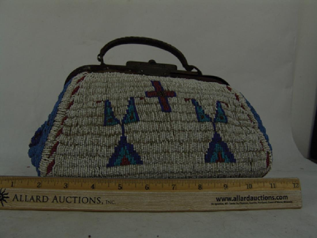 Sioux Fully Beaded Bag - 6