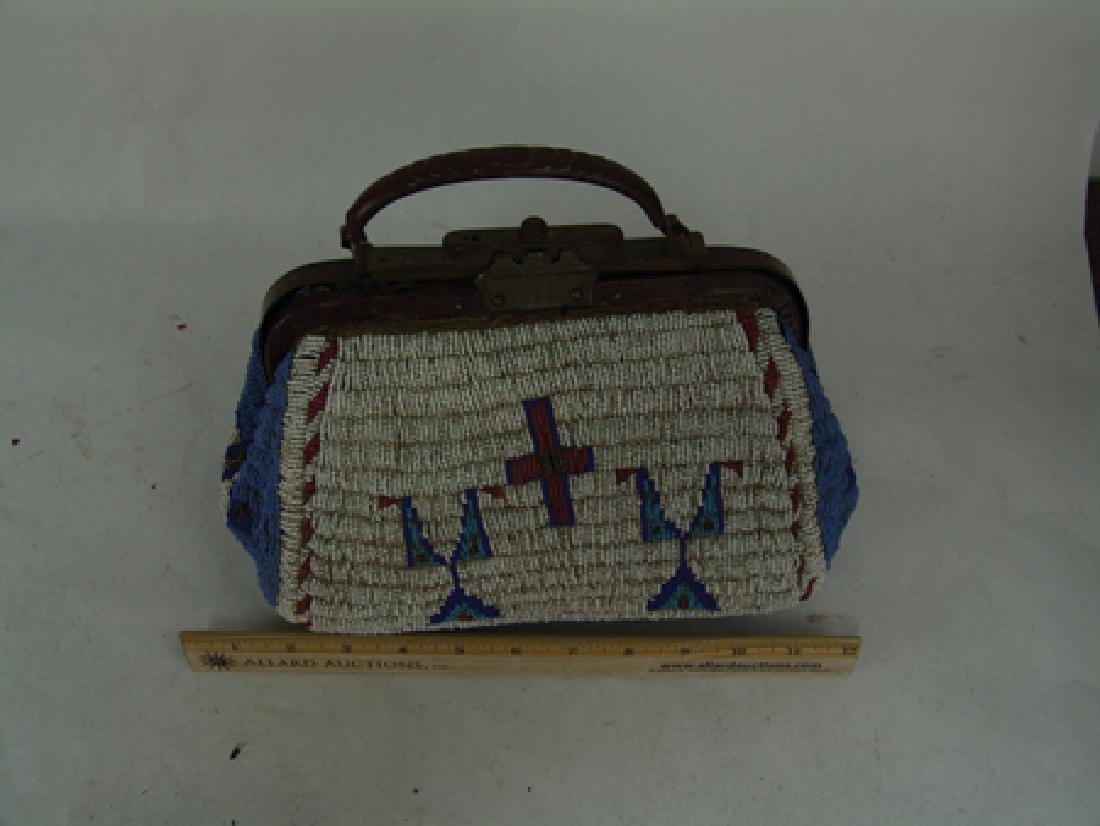Sioux Fully Beaded Bag - 7