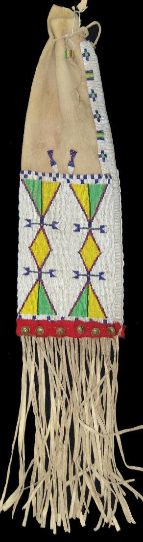 Plains Beaded Pipe Bag - 2