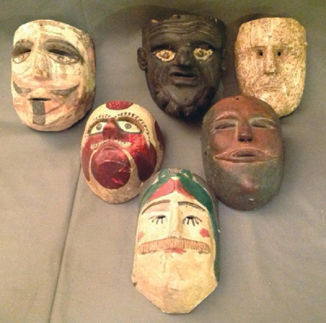 6 Mexican Masks