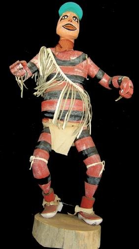 Half-Sized Hopi Kachina Carving - Johnny Charlie
