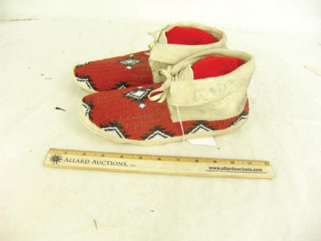 Paiute Beaded Moccasins - 3