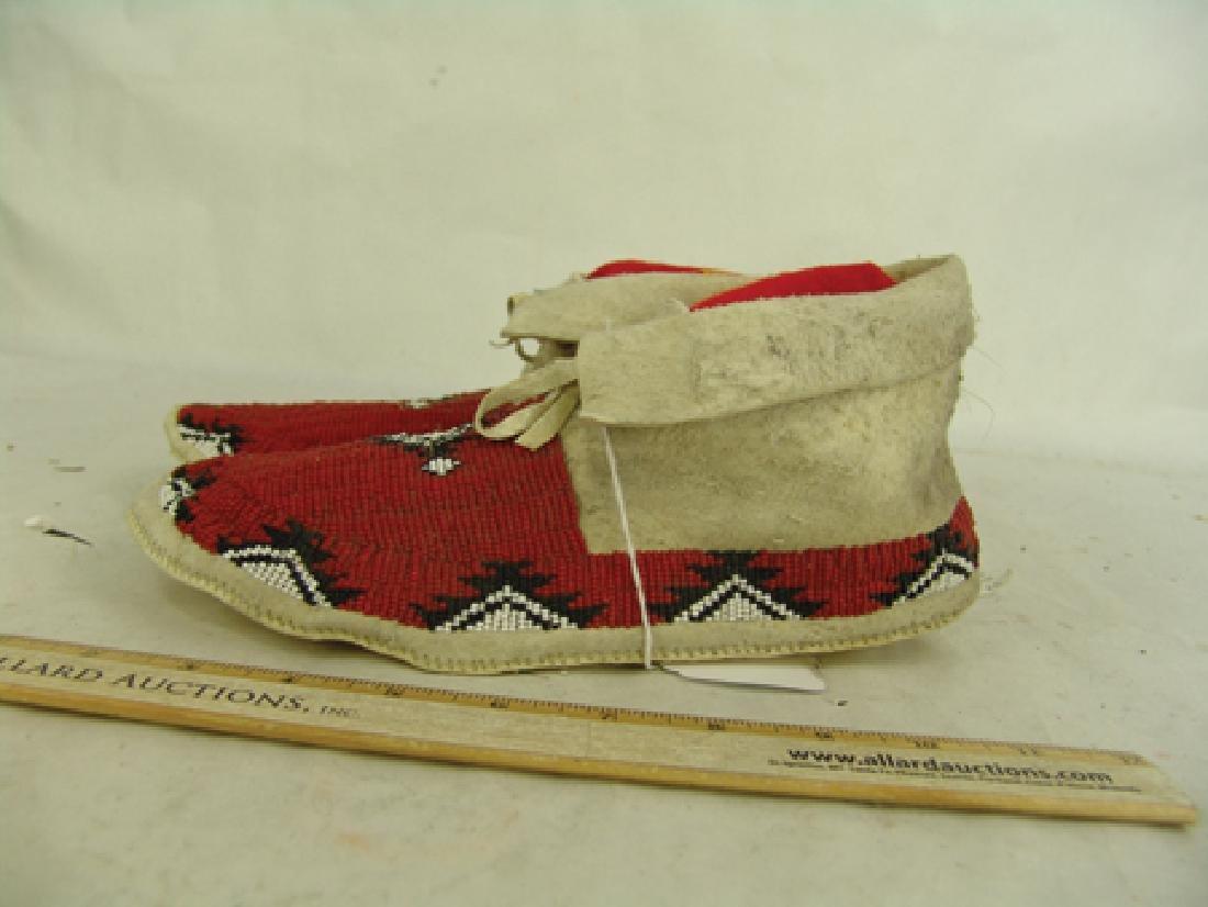 Paiute Beaded Moccasins - 4