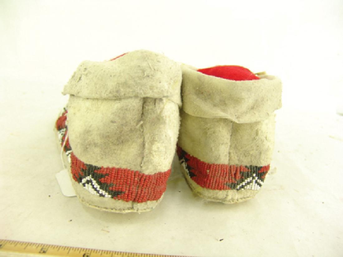 Paiute Beaded Moccasins - 5