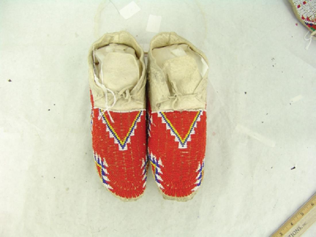 Cheyenne Beaded Moccasins - 3