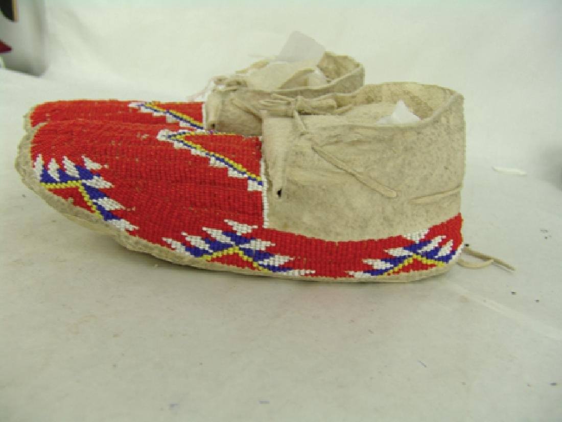 Cheyenne Beaded Moccasins - 5