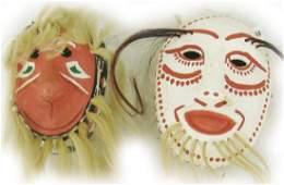 Yaqui  Tarahumara Masks