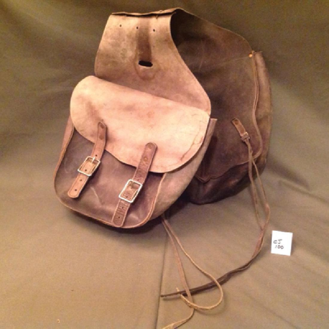 Vintage Saddlebags - 2