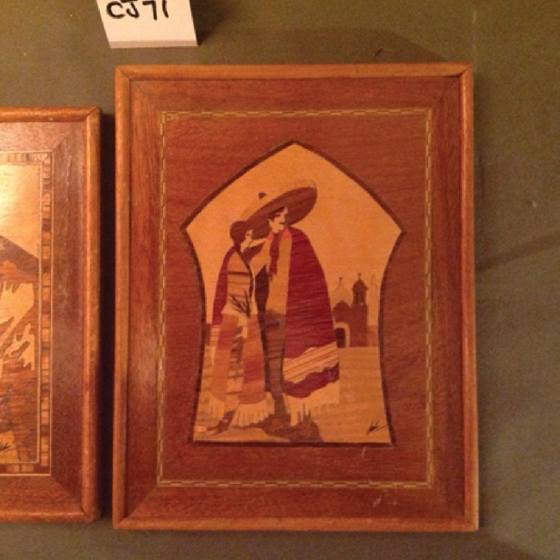 Mexican Wood Mosaics - 2
