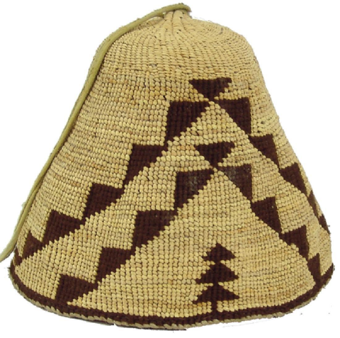 Nez Perce Basketry Hat
