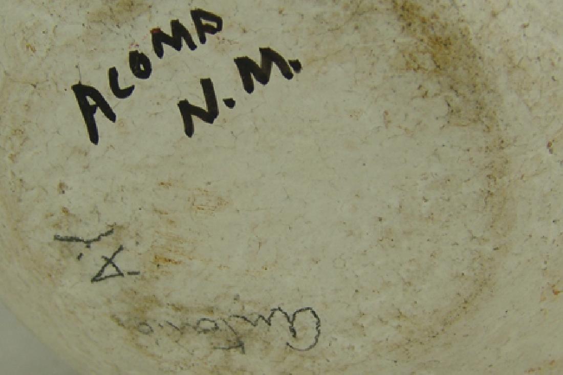 Acoma Pottery Jar - Antonio - 10