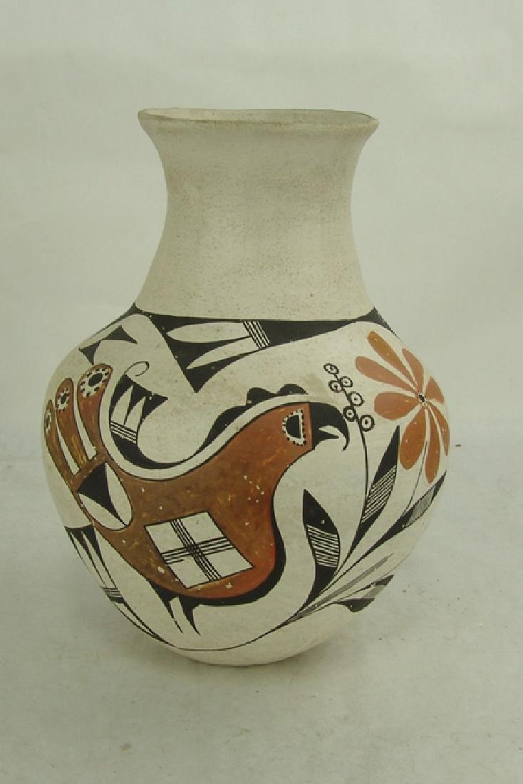 Acoma Pottery Jar - Antonio - 4