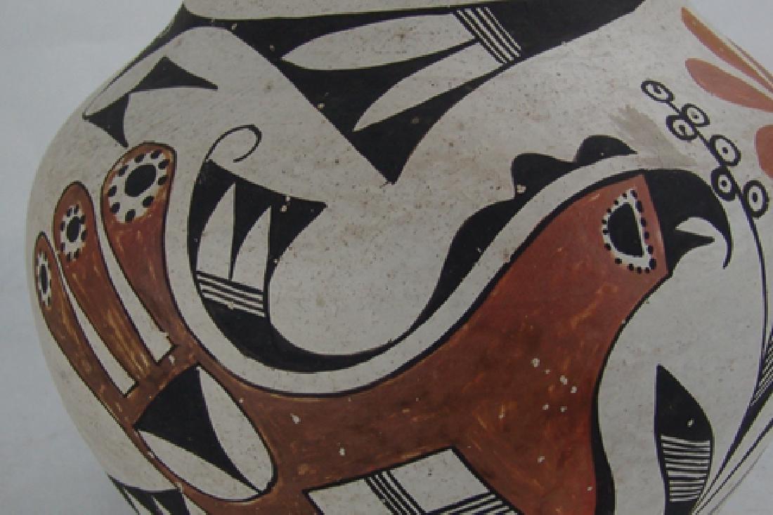 Acoma Pottery Jar - Antonio - 6