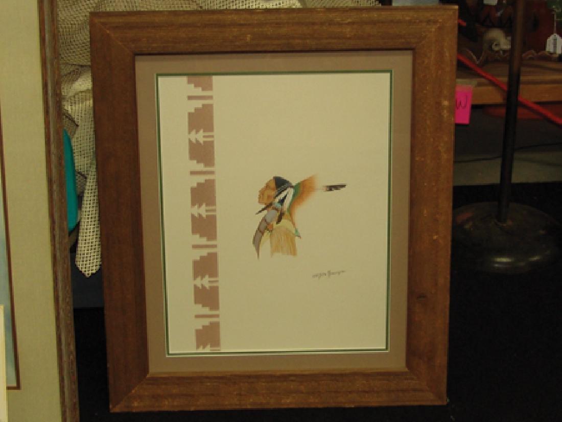 Doc Tate Nevaquaya, Comanche (1932-1996) - 2