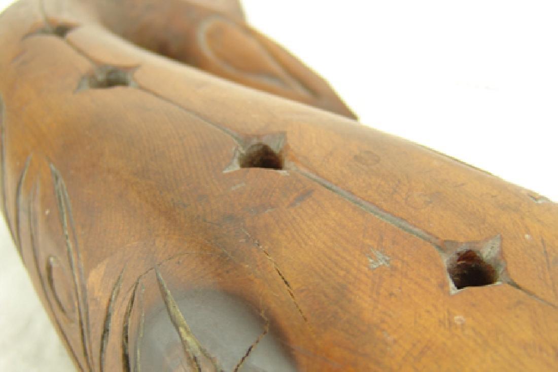 Salish Whale Carving - Simon Charlie (1920-2005) - 8