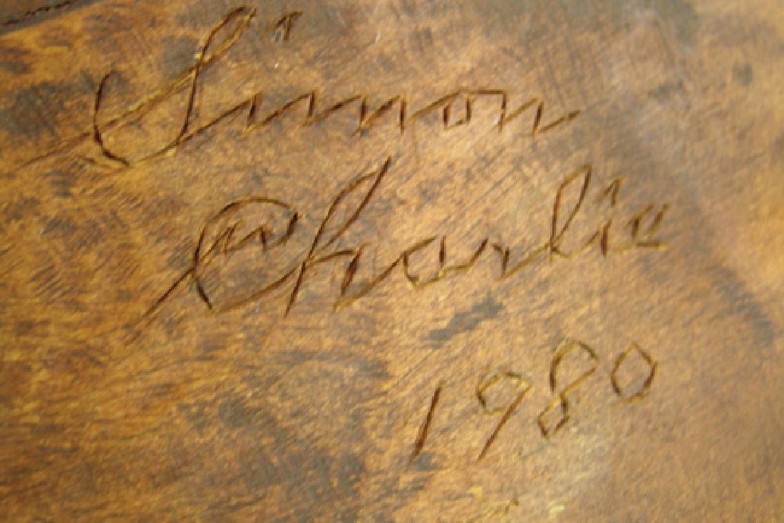 Salish Whale Carving - Simon Charlie (1920-2005) - 9