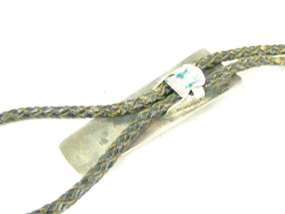 All-Silver Bolo Tie - John Hornbeck - 9
