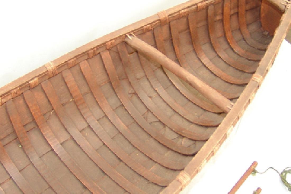 Woodlands Model Canoe - 10