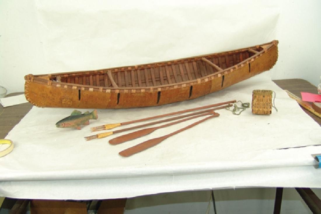 Woodlands Model Canoe - 3