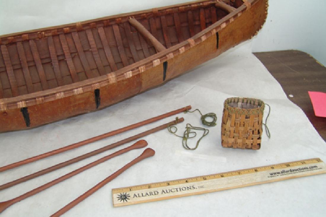Woodlands Model Canoe - 4