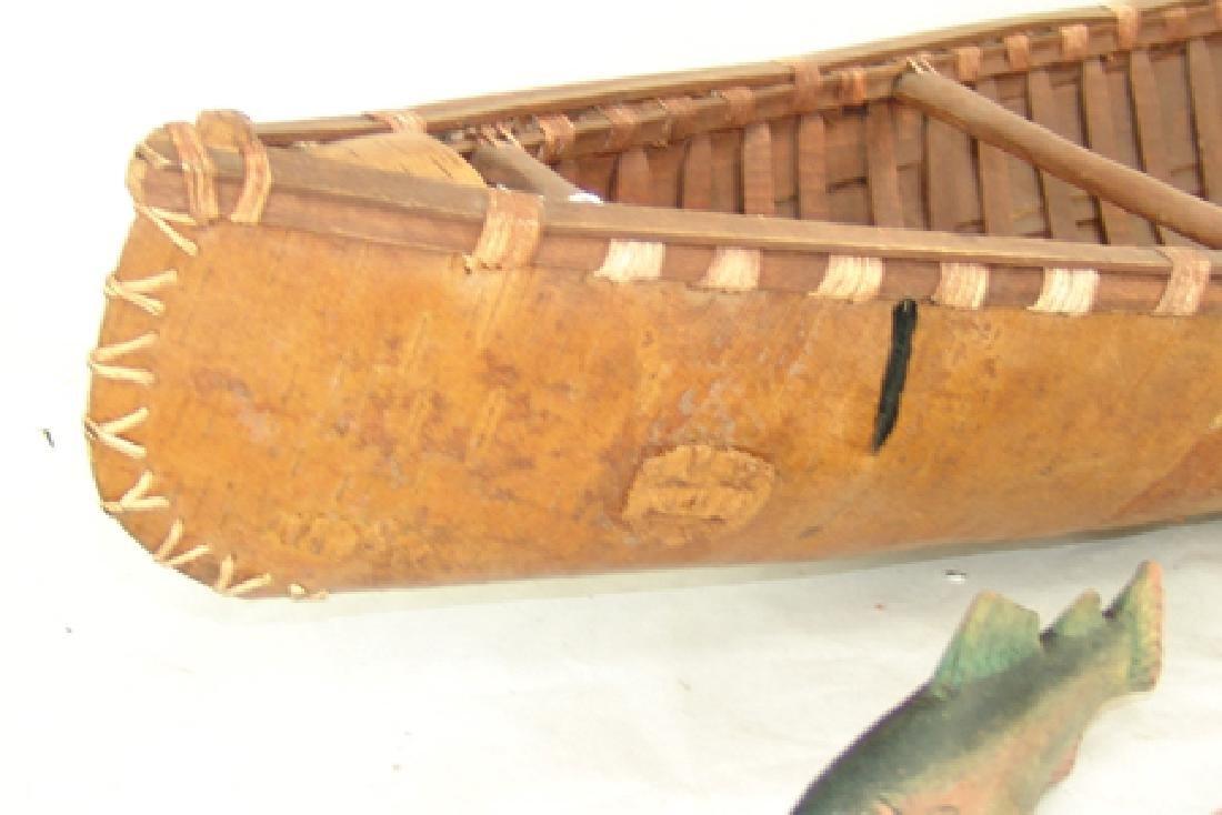 Woodlands Model Canoe - 9