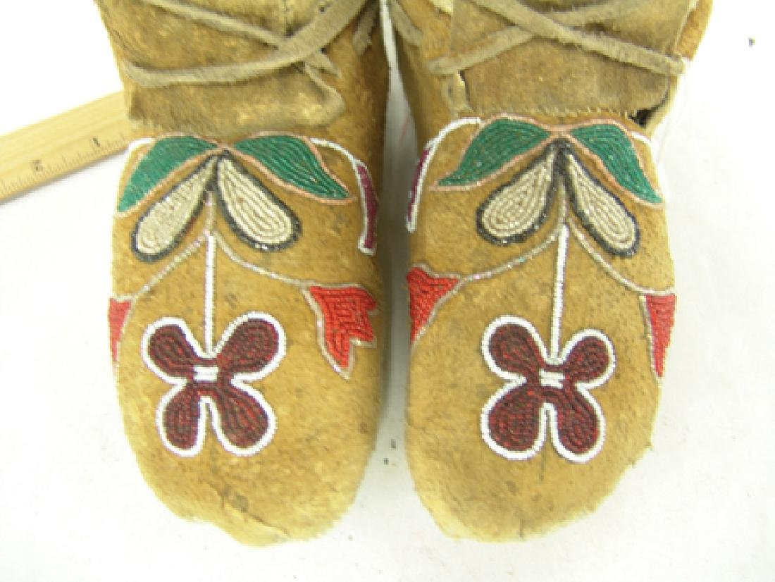 Plateau Beaded Moccasins - 3