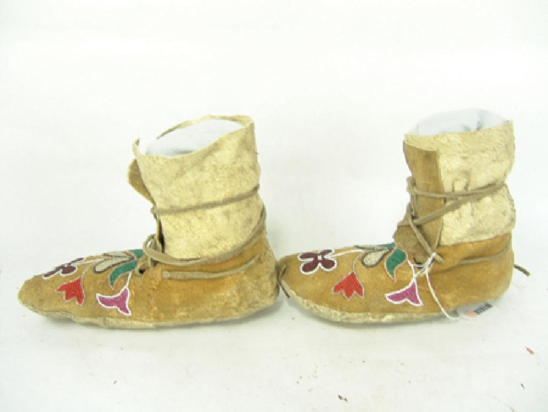 Plateau Beaded Moccasins - 6